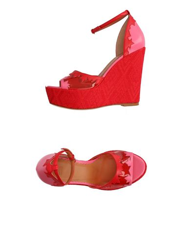 Sandals in Red