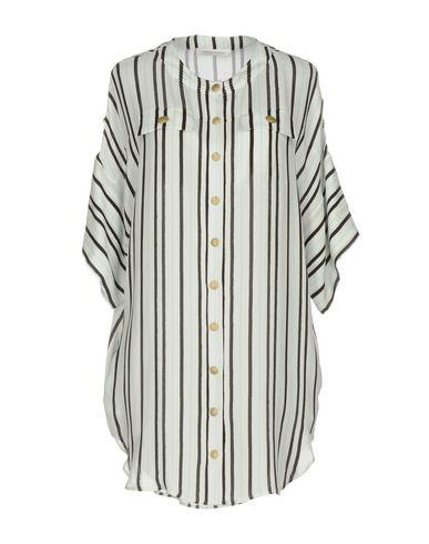 Shirt Dress in Ivory
