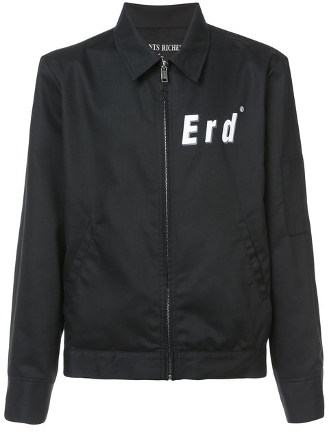 ENFANTS RICHES DEPRIMES Eisenhower Cotton Twill Jacket - Black Size Xl