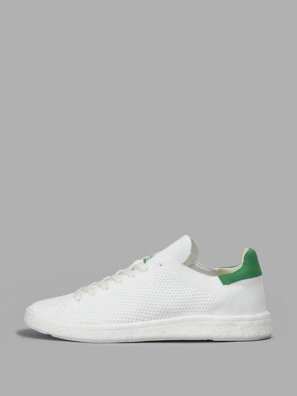 dd665c323a2886 Adidas Originals Stan Smith Boost Primeknit Sneakers In White Bb0013 - White