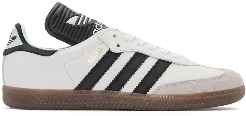 Off-White and Red Samba OG Sneakers adidas Originals cm855tNz24