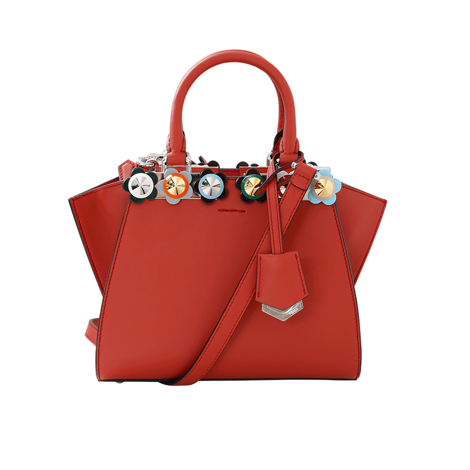 3Jours Plexi Flower Mini Shopper Bag in Bldymary