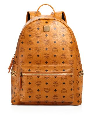Mediumstark Visetos Coated Canvas Backpack - Brown