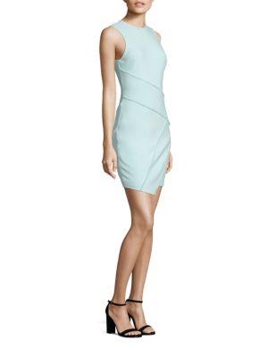 CINQ À SEPT Josie Sheath Dress in Aruba