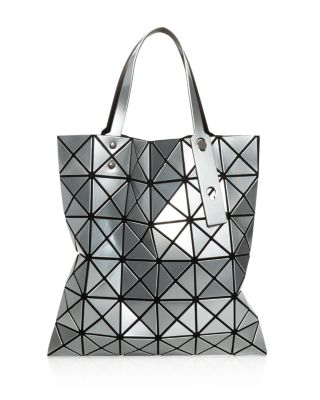 Bao Issey Miyake Silver Lucent Tote Bag