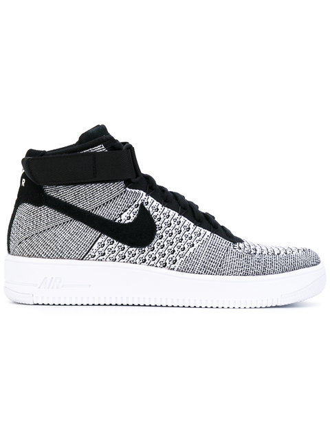 the best attitude 461ee a3dfa NIKE Air Force 1 Ultra Flyknit Mid Sneaker, Black  Black  White