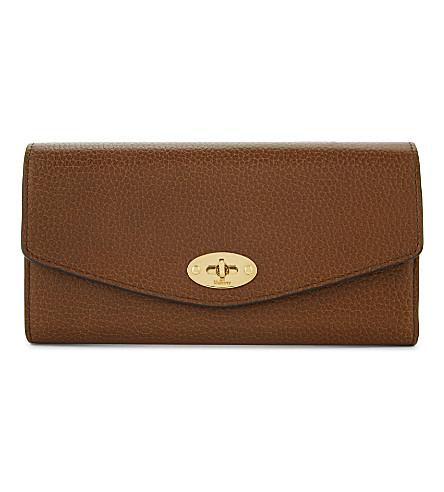 Darley Leather Wallet, Oak