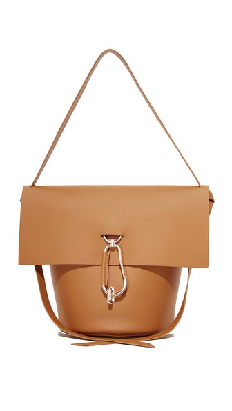 ZAC ZAC POSEN Belay Leather Crossbody in Brown