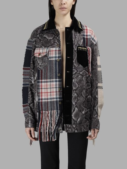 Patchwork Cowboy Jacket, Multicolor