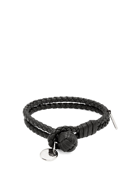 lyst veneta product in bottega normal brown jewelry intrecciato bracelet