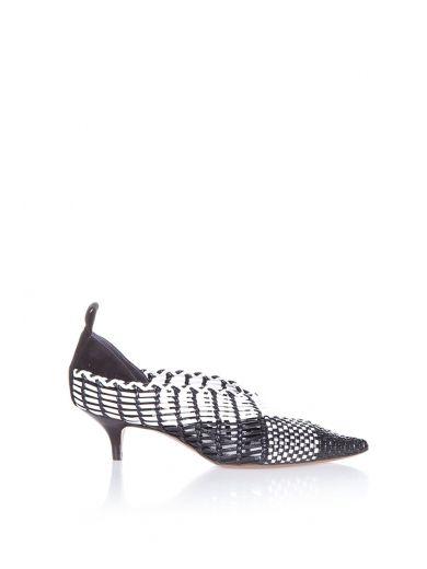 Céline Woven Leather Loafers Stockist Online ggJ17W