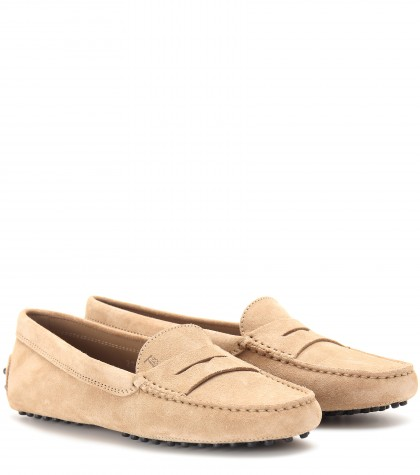 Gommini Mocassino - Suede Dr in Gieger