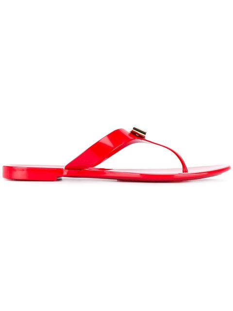 Farelia 1 Jelly City Sandal, Red, Red Pvc