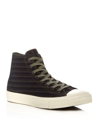 new concept e6e6a ec159 CONVERSE JOHN VARVATOS CHUCK TAYLOR ALL STAR II HIGH TOP SNEAKERS, GREEN