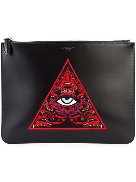 GIVENCHY - Embroidered Clutch