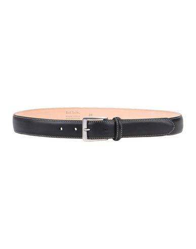PAUL SMITH Leather Belt in Black