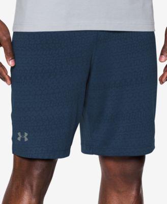 UNDER ARMOUR Raid Jacquard Shorts in Blue