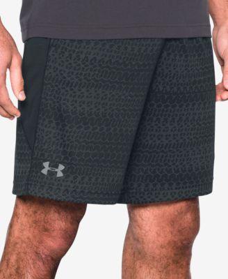 UNDER ARMOUR Raid Jacquard Shorts in Black