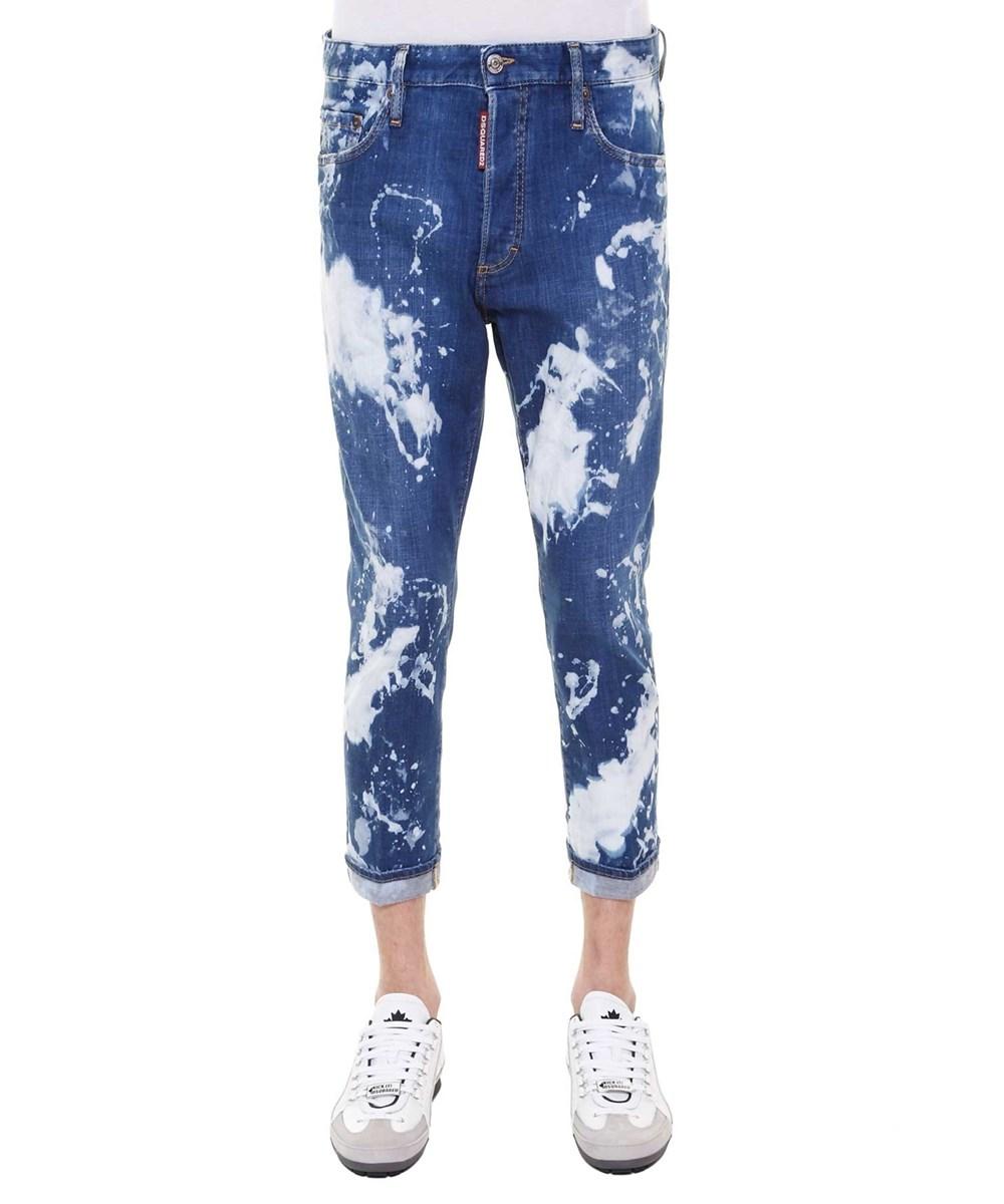 DSQUARED2 Men'S  Blue Cotton Jeans'