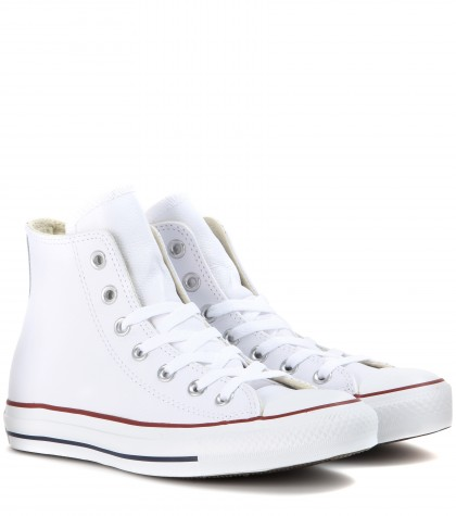 Chuck Taylor® All Star® 'Lux' Hidden Wedge High Top Sneaker (Women), White from Finish Line
