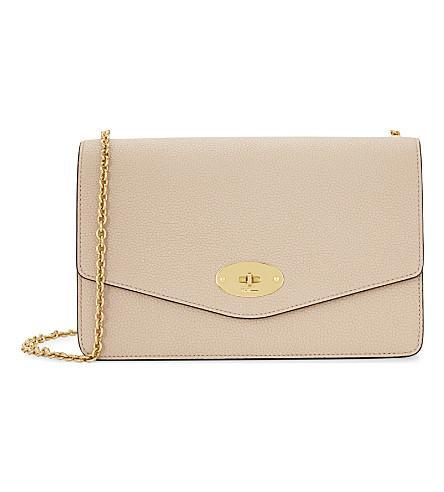 Darley Leather Shoulder Bag, Rosewater