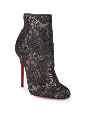 Christian Louboutin Miss Tennis 100 Lace Booties Clearance Sast Buy Cheap View Discount Many Kinds Of zcaaDCC