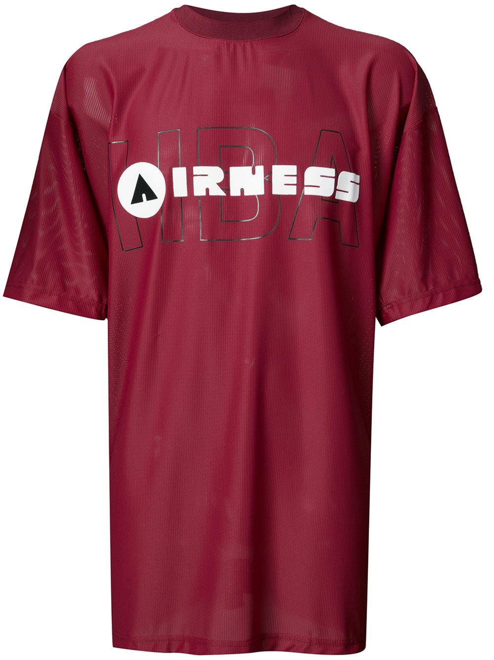 HOOD BY AIR Hood By Air Irness Print T-Shirt - Red