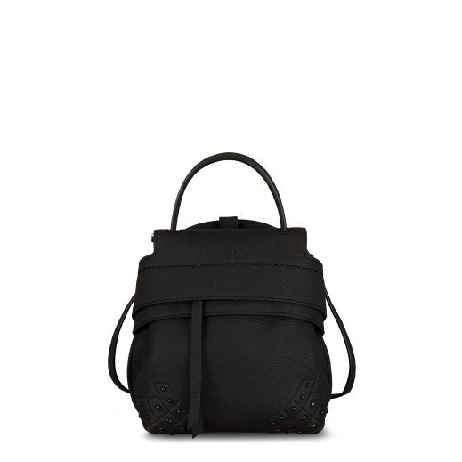 Backpack Shoulder Bag Women Tods, Black