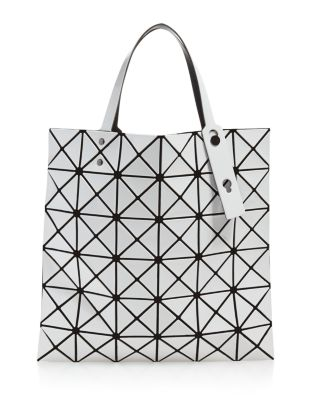 Lucent Lightweight Tote Bag in White