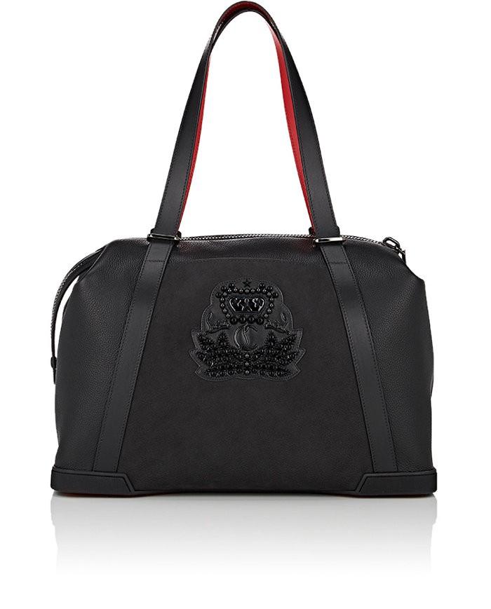 CHRISTIAN LOUBOUTIN Bagdamon Day Bag in Black