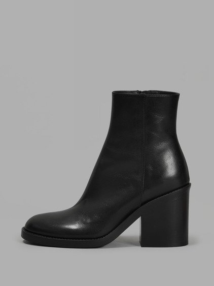 Ann Demeulemeester Leather Platform Booties Perfect Online Discounts Cheap Online Discount Excellent Clearance Order AX7sx