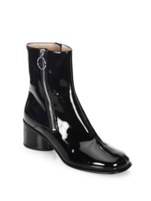 See by Chloé White Crawford Double Zip Boots YLe3b0