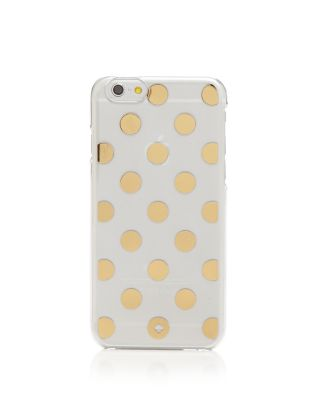 Le Pavillion Clear Iphone 7/8 Plus Case in Clear/Gold