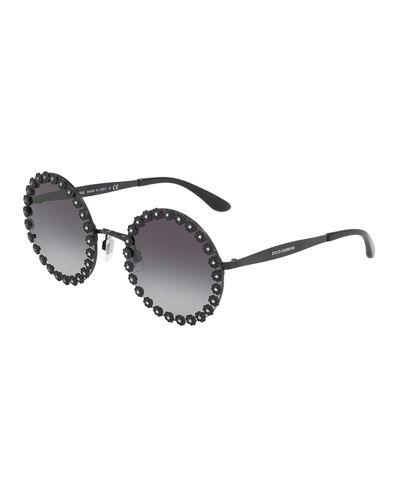 Dolce & Gabbana Eyewear round frame glasses Visit New Sale Online cznZO