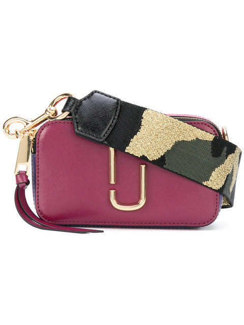 16c39b820f Marc Jacobs Snapshot Small Camera Bag In Lava Red Multi | ModeSens