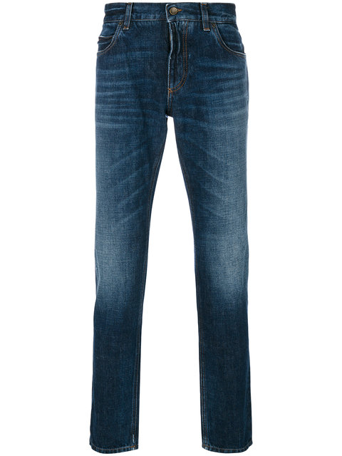 DOLCE & GABBANA Dolce E Gabbana Men'S  Blue Cotton Jeans, Denim
