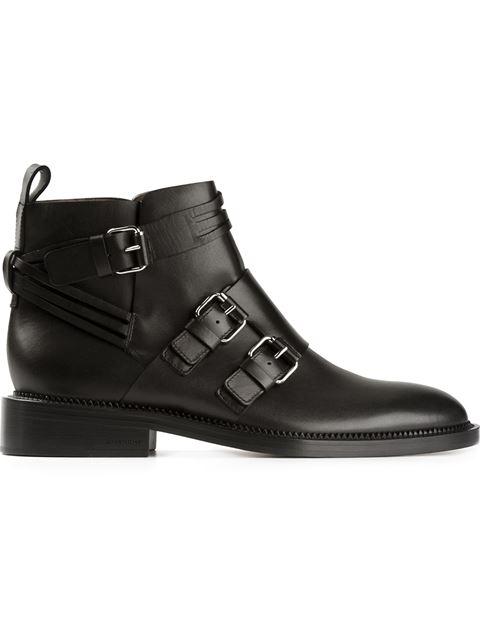 largest supplier for sale limited edition sale online Givenchy Black monk strap leather ankle boots cheap online low shipping sale online vkilSU1fQl