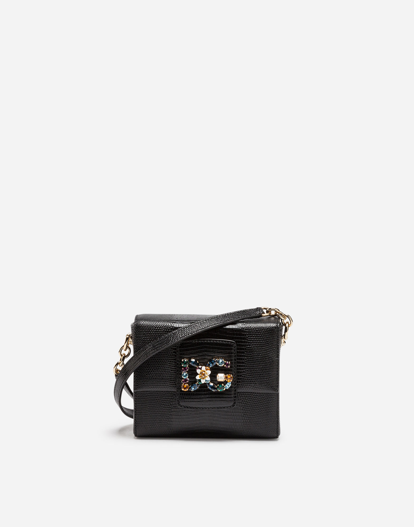 Dg Millennials Bag In Leather in Black