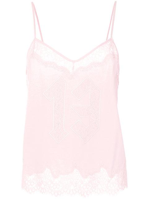 Fenty X Puma Lace Trim Sleepwear Cami - Pink & Purple