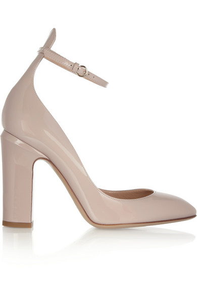 Patent Tango Ankle-Strap Pumps, Pink