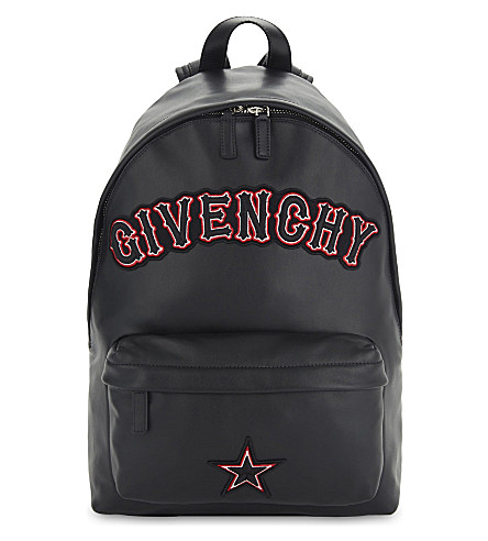 Black Gothic Logo Nano Backpack Bag