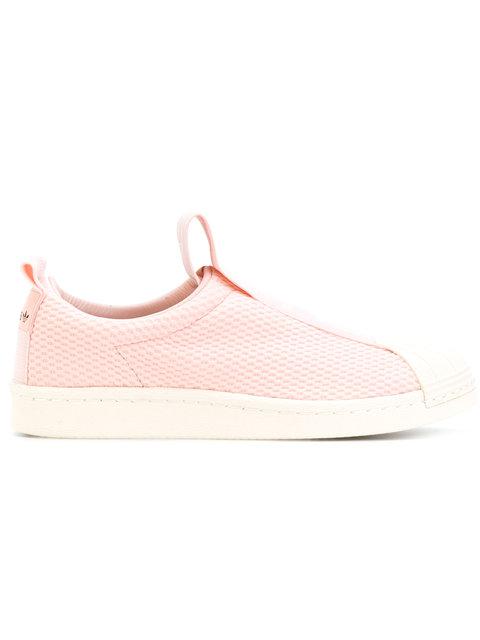Superstar Bw Slip-On Sneakers in Pink
