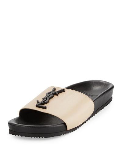 Supply Cheap Sale Saint Laurent Flip Flops Reliable Online 4dacWF