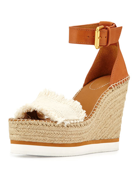 Recommend Cheap Price See by Chloé Platform Wedge Sandals Cheap Price Wholesale Price lYN1K