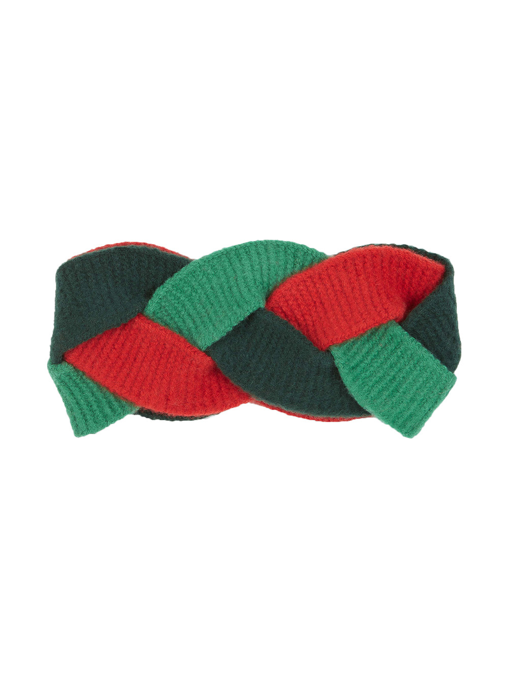 2a9932ab98b GUCCI Multicolor Braided Wool Blend Headband