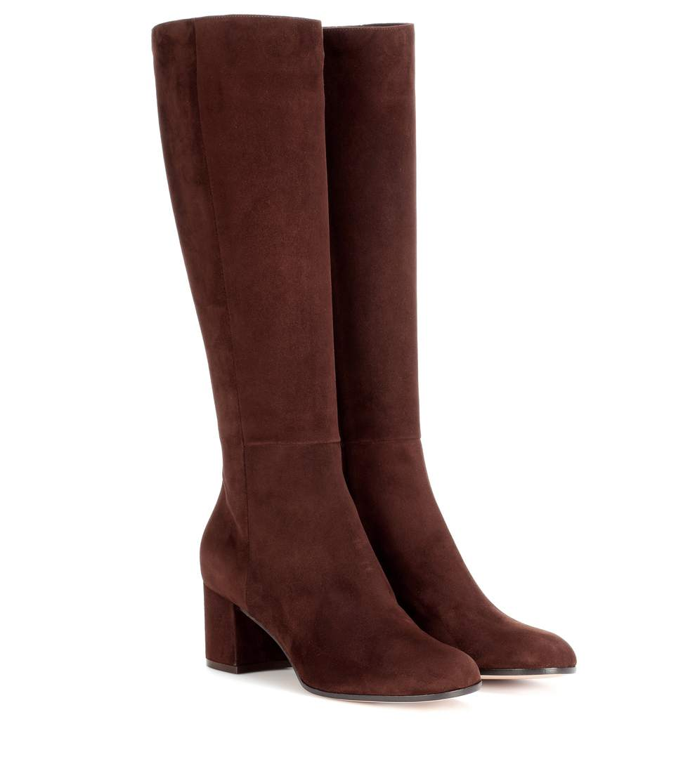 Milton Suede Boots, Brown