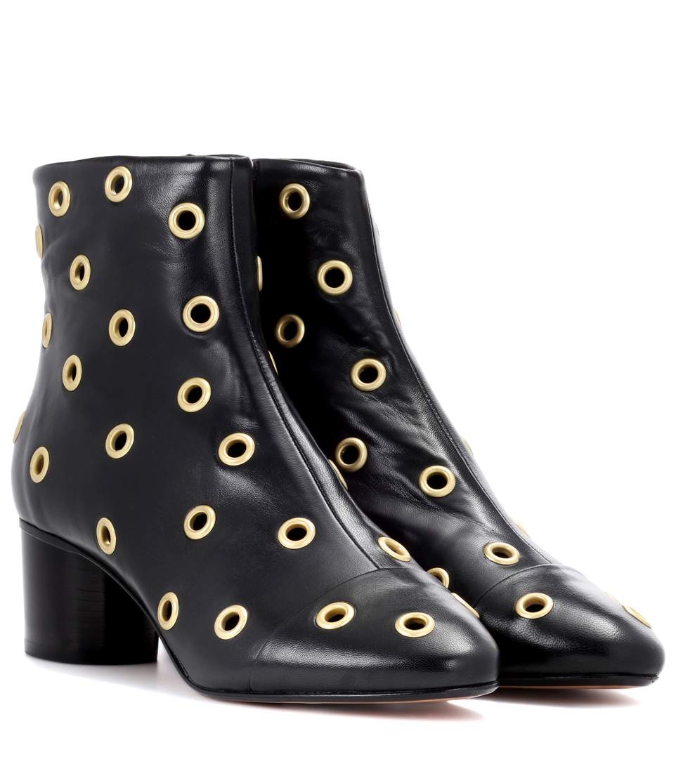 Isabel Marant Eyelet embellished Danay boots Free Shipping Best Seller Wholesale Price Online Outlet Fast Delivery Buy Cheap Browse rKkKA2M