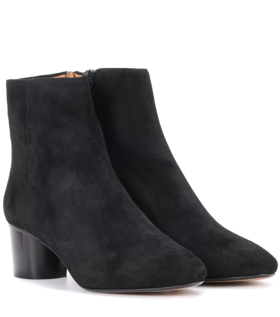 Black Suede Danay Boots