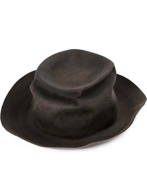 HORISAKI Horisaki Design & Handel Distressed Top Hat - Grey