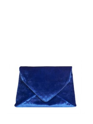 Dries Van Noten Fold-Over Leather Clutch Bag EAmsUA